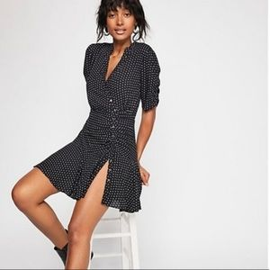 Free People Dresses - Free People Pippa Polka Dot Mini Dress